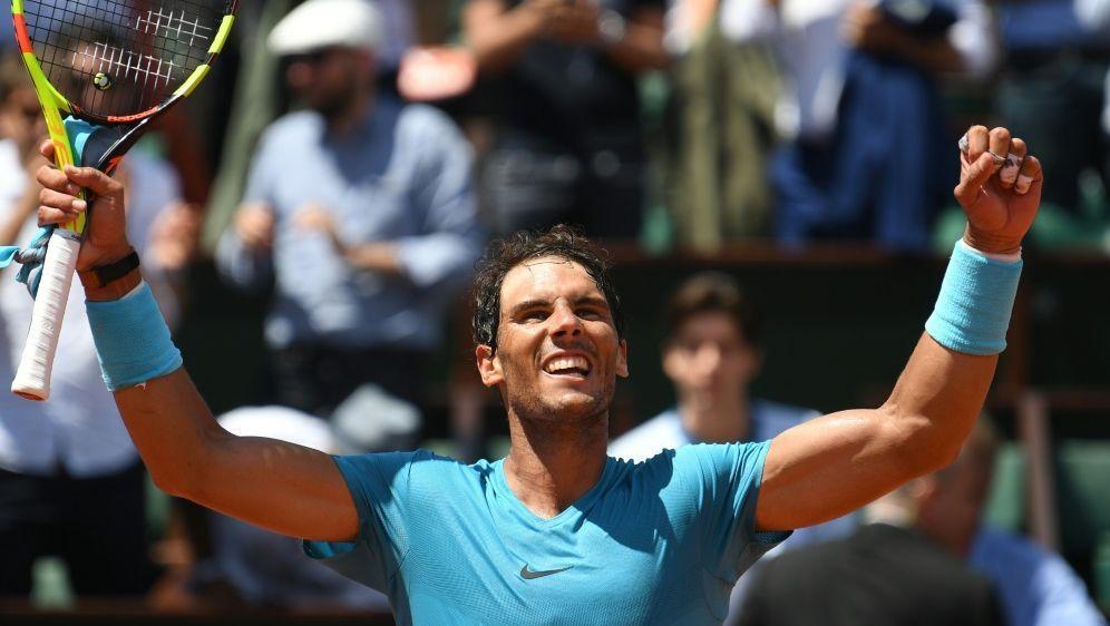 Nadal steht souverän im Halbfinale der French Open - Bildquelle: AFPSIDERIC FEFERBERG