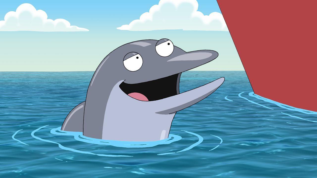 Der Delfin Billy will Peter bei seiner Mission helfen, stellt jedoch eine Bedingung ... - Bildquelle: 2011 Twentieth Century Fox Film Corporation. All rights reserved.