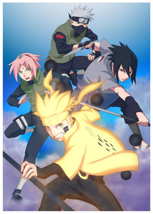 (9. Staffel) - Naruto Shippuden - Artwork - Bildquelle: 2002 MASASHI KISHIMOTO / 2007 SHIPPUDEN All Rights Reserved.