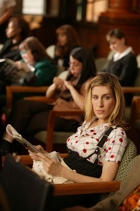 Die ständigen Dispute mit Berger zermürben Carrie (Sarah Jessica Parker, r.) zunehmend. Deshalb stellt sie sich die Frage, ob eine zeitlich begren... - Bildquelle: Paramount Pictures