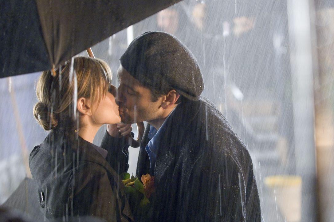 Ahnen nicht, dass Roman neiderfüllt ihr Glück beobachtet: Jess (Sarah Michelle Gellar, l.) und Ryan (Michael Landes, r.) ...