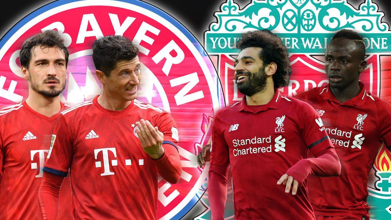 Champions League: Bayern vs. Liverpool im Head-to-Head - Bildquelle: Getty Images