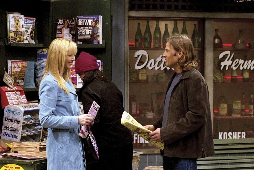 Phoebe (Lisa Kudrow) lernt Jim (James Le Gros) kennen. - Bildquelle: TM+  WARNER BROS.