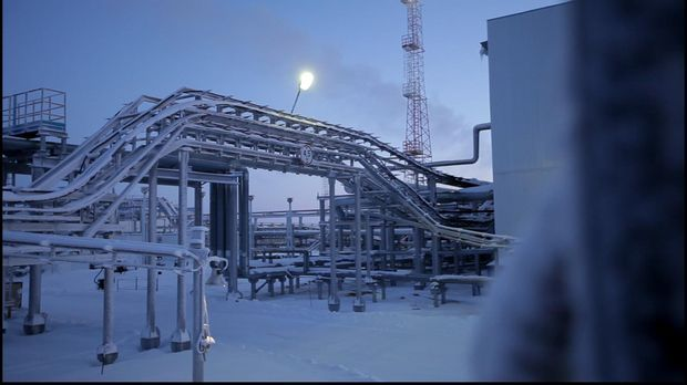 Weg des Russland-Gases