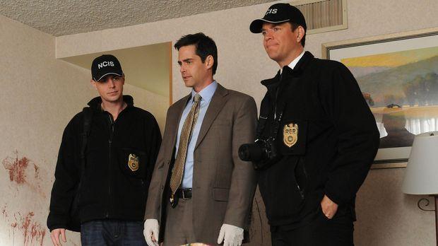 Justin Moss, Lieutenant der Navy, wird ermordet aufgefunden. McGee (Sean Murr...