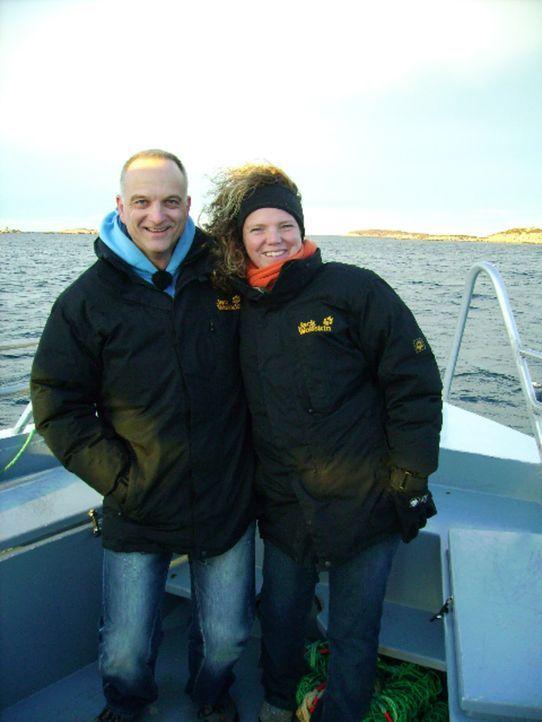 Ihr Motto lautet: Leben ist Veränderung! Birgit (r.) und Frank (l.) starten einen Neuanfang in Norwegen ... - Bildquelle: kabel eins