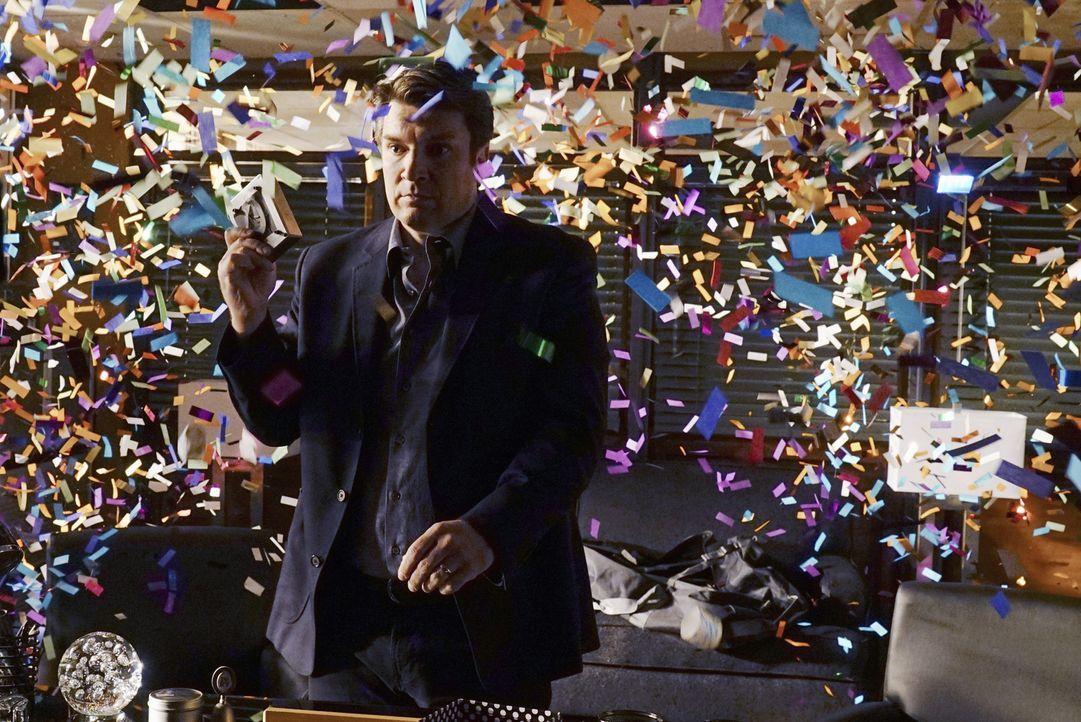 Castle (Nathan Fillion) plant eine ganz besondere Überraschung für Beckett zu ihrem ersten Hochzeitstag. Ob die das entfremdete Paar wieder zusammen... - Bildquelle: Richard Cartwright 2015 American Broadcasting Companies, Inc. All rights reserved.
