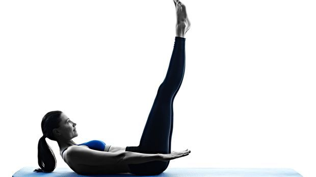 Fehlen nur noch die unteren Bauchmuskeln – für viele die schwierigste Übung....