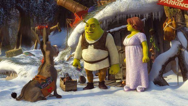 Shrek - Oh du Shrekliche - Obwohl Shrek wirklich überhaupt kein Interesse an...