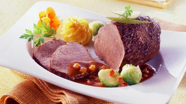 Leckeres Essen: Braten
