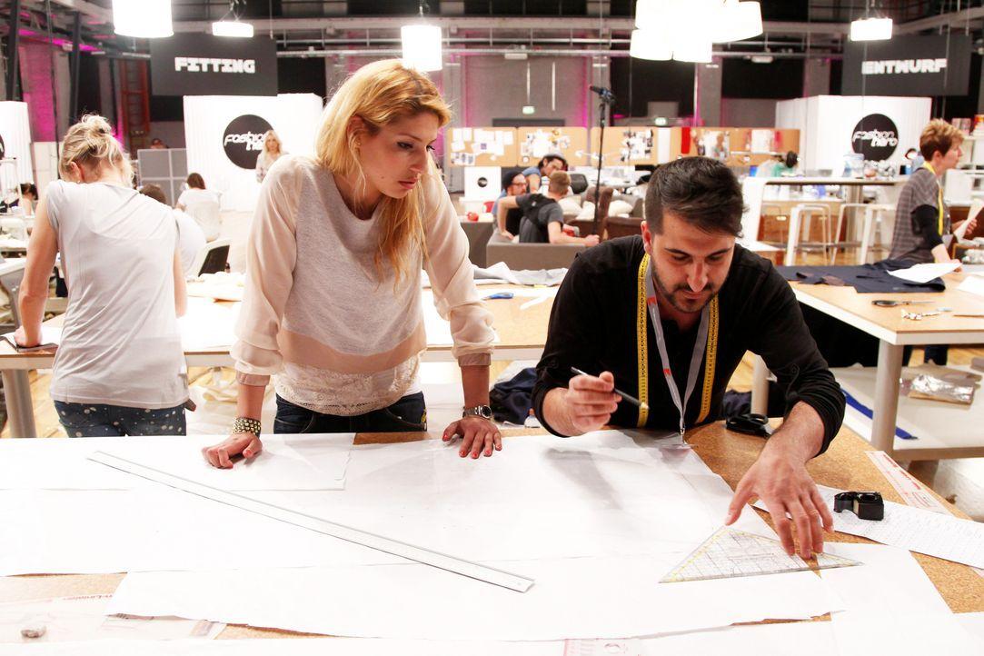 Fashion-Hero-Epi01-Atelier-35-ProSieben-Richard-Huebner - Bildquelle: ProSieben / Richard Huebner