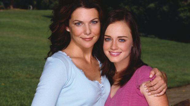 (4. Staffel) - Aufregende Zeiten warten auf Lorelai (Lauren Graham, l.) und R...