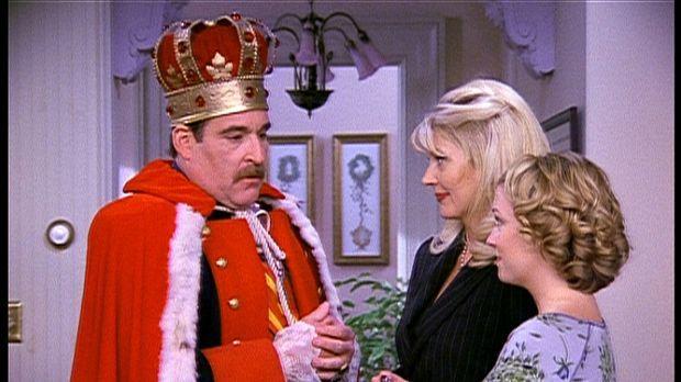 Zelda (Beth Broderick, M.) und Sabrina (Melissa Joan Hart, r.) haben Besuch v...