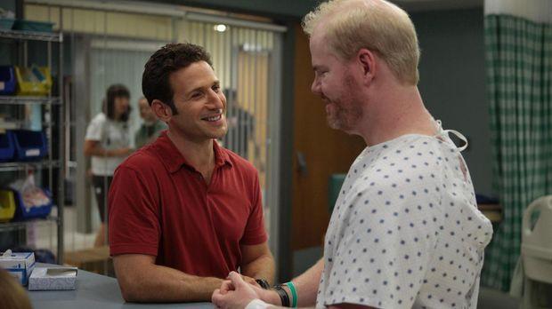 Dr. Hank Lawson (Mark Feuerstein, l.) ist fest davon überzeugt, dass Pete Sta...