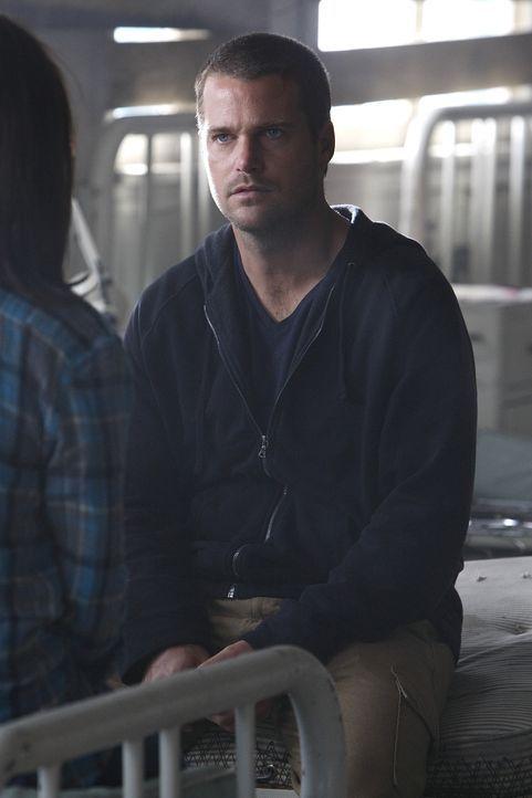 Wird das Rätsel um seine Identität gelöst werden? Callen (Chris O'Donnell) ... - Bildquelle: CBS Studios Inc. All Rights Reserved.