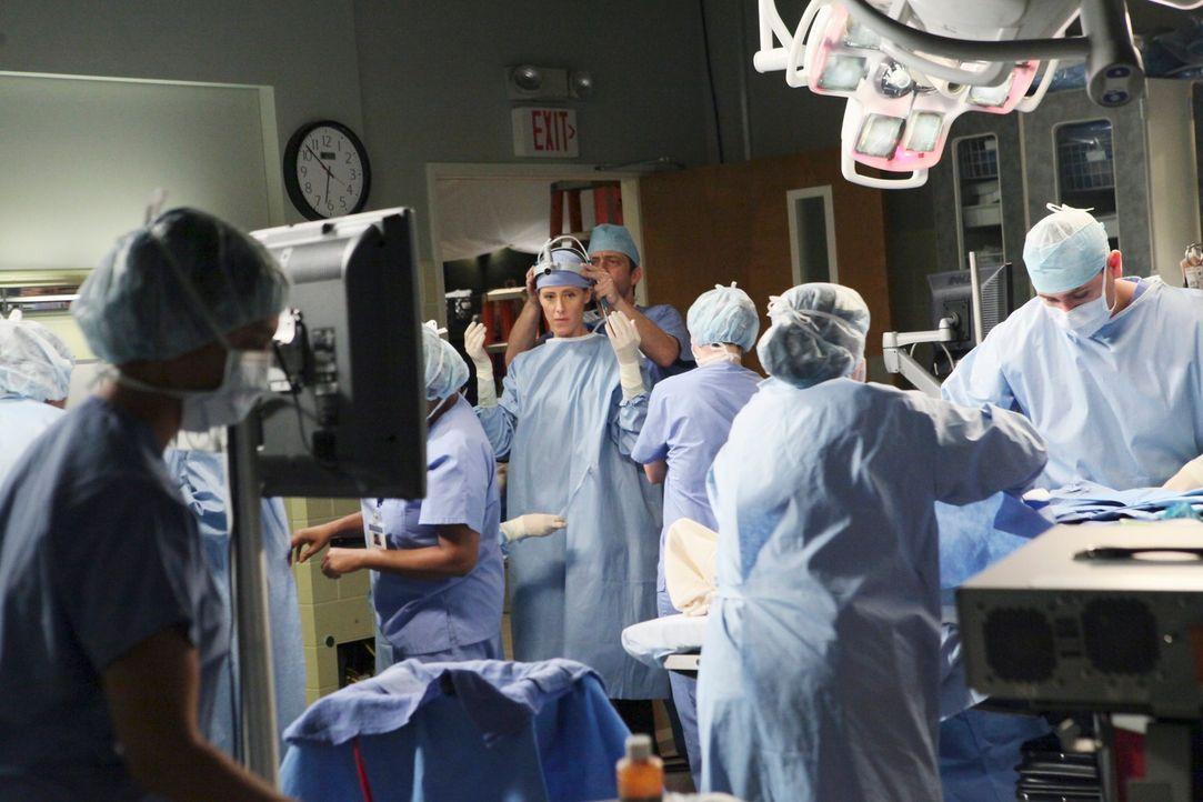 Immer im Einsatz Leben zu retten: Teddy (Kim Raver, 3.v.l.) ... - Bildquelle: ABC Studios