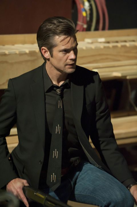 In Harlan gibt es für Raylan Givens (Timothy Olyphant) immer etwas zu tun ... - Bildquelle: 2011 Sony Pictures Television Inc. and Bluebush Productions, LLC. All Rights Reserved.