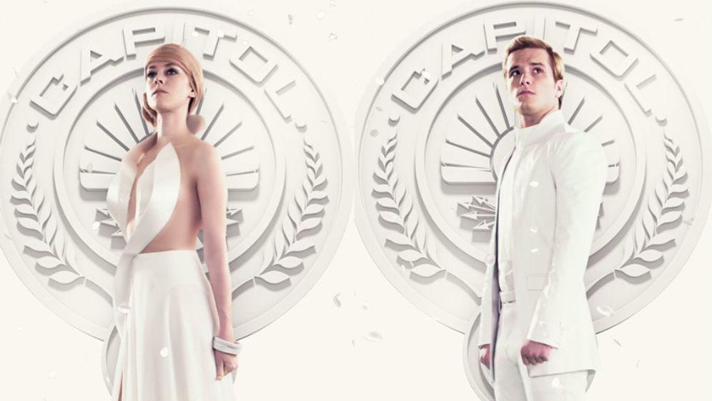 Tribute Von Panem 3 Bilder Zu Mockingjay Mit Peeta Und Johanna