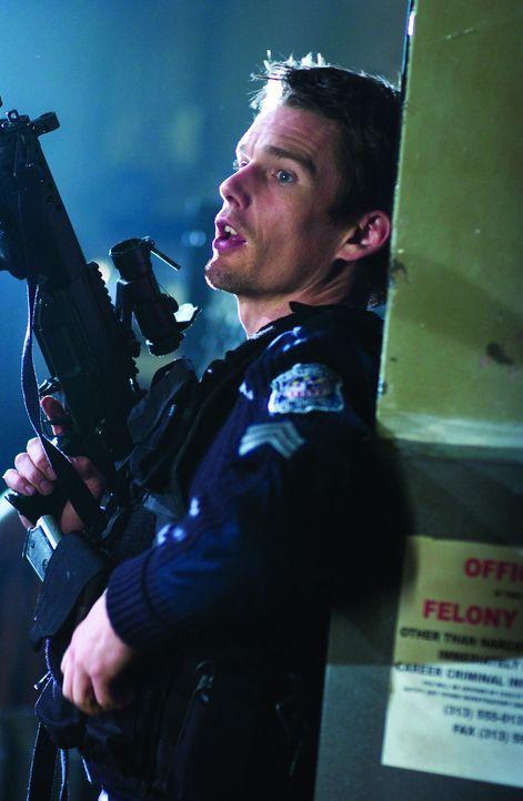 Als plötzlich Scharfschützen aus den eigenen Polizeireihen das Feuer auf die unterbesetzte Station eröffnen, bleibt dem diensthabenden Officer Se...
