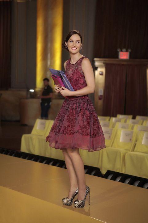Steht unter dem Druck, eine grandiose erste Modenschau ihrer neuen Waldorf-Modelinie zu präsentieren: Blair (Leighton Meester) ... - Bildquelle: Warner Brothers