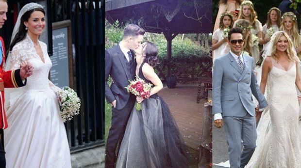 So schön heiraten die Stars