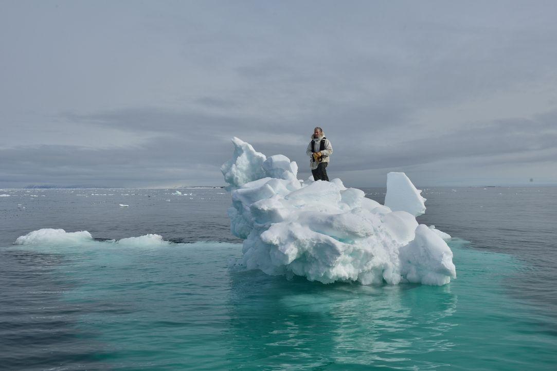 Auf den Spuren der Eisbären durchleben Buchanan und sein Team eine unvergleichliche Polarexpedition ... - Bildquelle: Gordon Buchanan