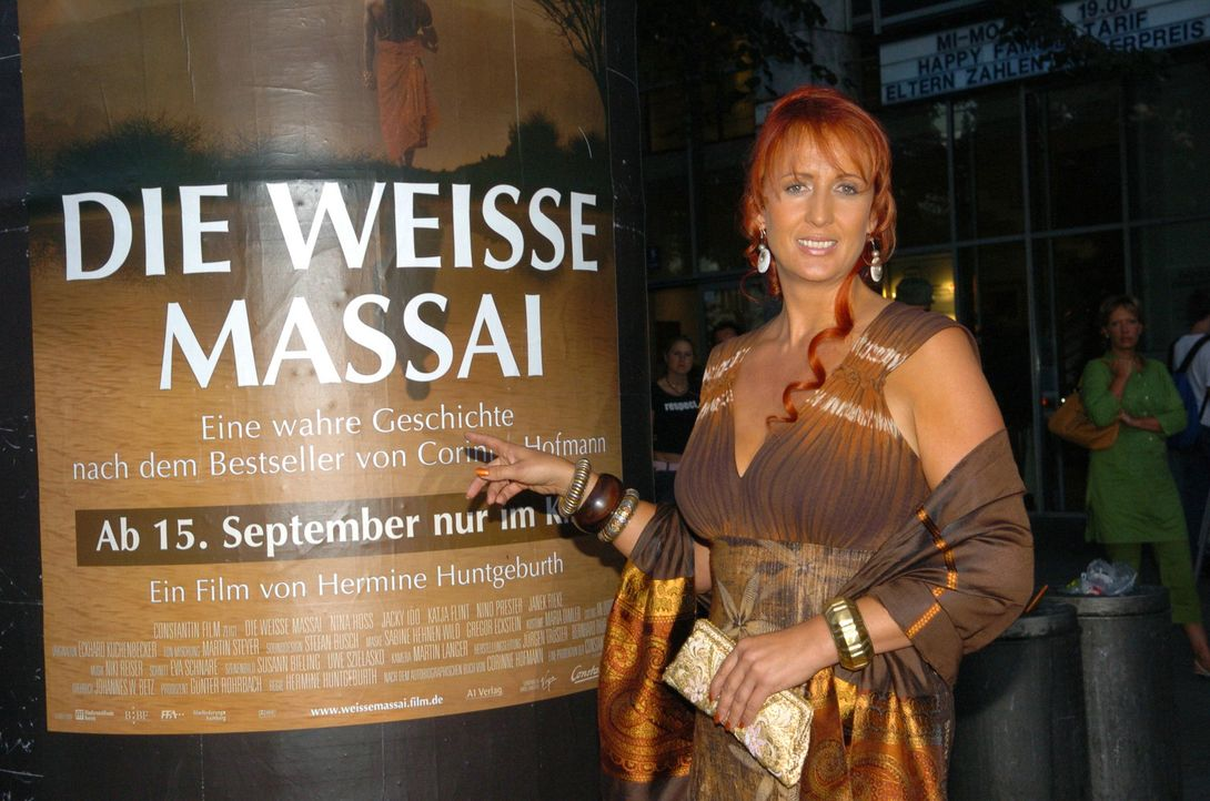 """Katja Flint bei der Premiere zu """"Die Weisse Massai"""". - Bildquelle: Constantin Film Produktion GmbH"""