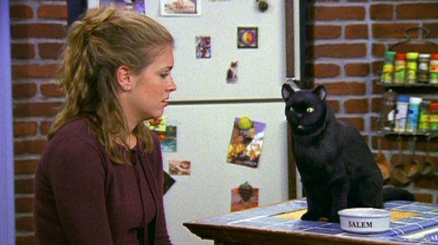 Sabrina (Melissa Joan Hart) ist so eifersüchtig und bittet deshalb ihren Kate...
