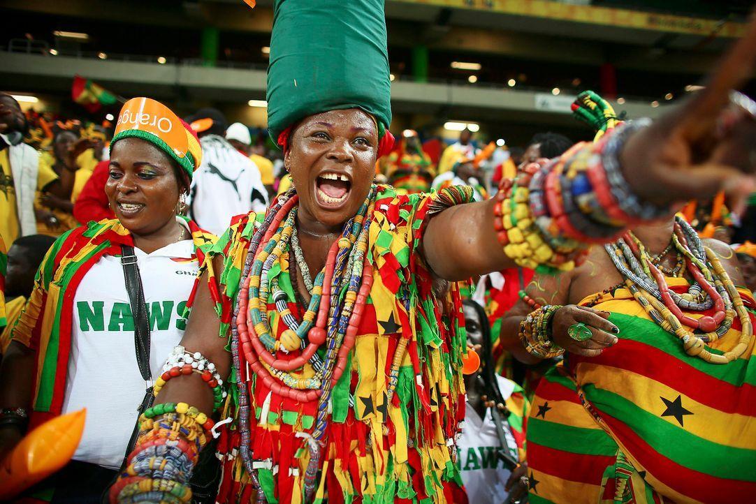Fussball-Fans-Ghana-130206-dpa - Bildquelle: dpa
