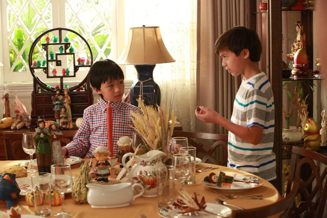 Ihre Mutter hat entschieden, dass Jessica dieses Mal für das Thanksgiving-Fest zuständig ist. Während sie und Louis sich um das perfekte Festmahl kü... - Bildquelle: 2015-2016 American Broadcasting Companies. All rights reserved.