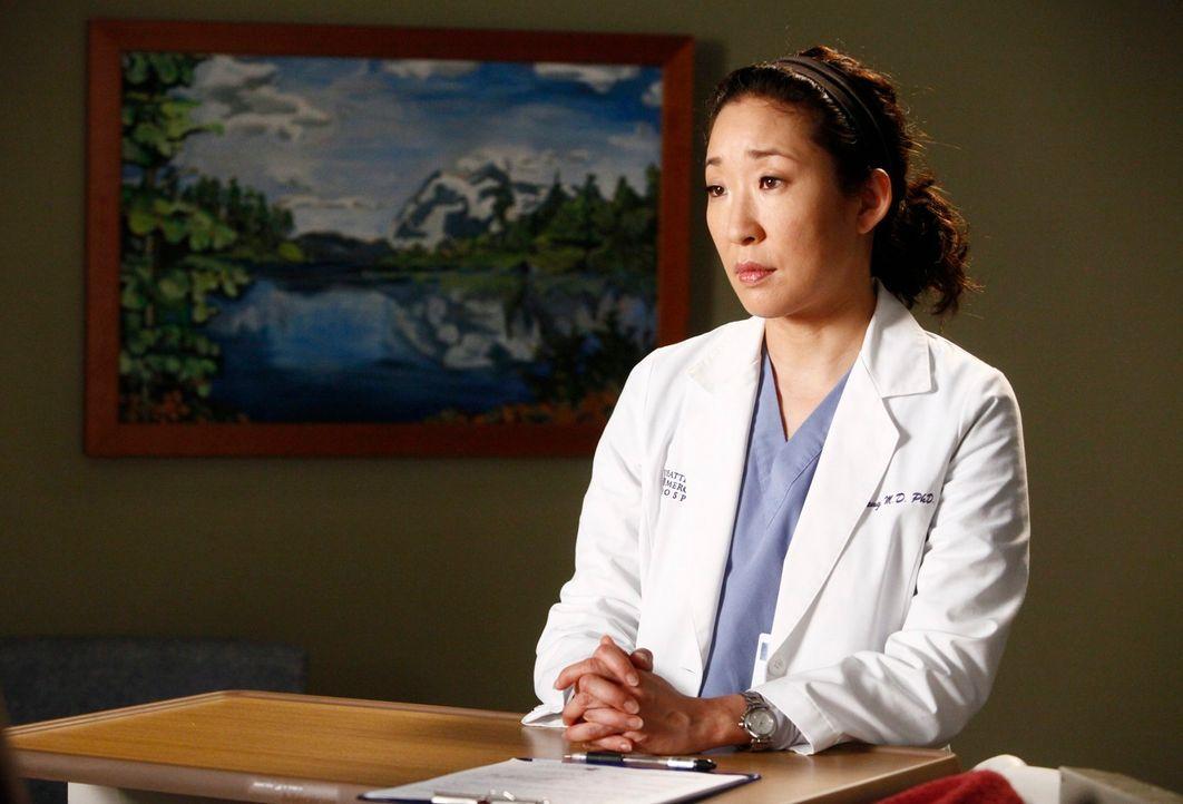 Verdächtigt Owen, ein Verhältnis mit einer Krankenschwester zu haben: Cristina (Sandra Oh) ... - Bildquelle: ABC Studios