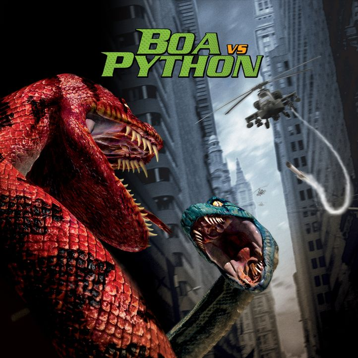 Boa vs. Python - Duell der Killerschlangen - Bildquelle: Sony Pictures Television International. All Rights Reserved.