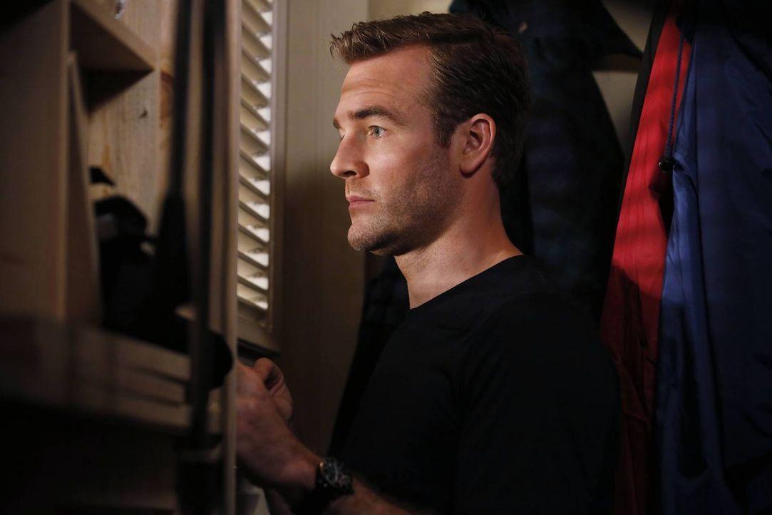 Als Will (James Van Der Beek) kurz bei seiner Ex-Frau zu Hause vorbeischaut, hätte er nie damit gerechnet, was ihn dort erwartet ... - Bildquelle: 2013 CBS Broadcasting, Inc. All Rights Reserved.