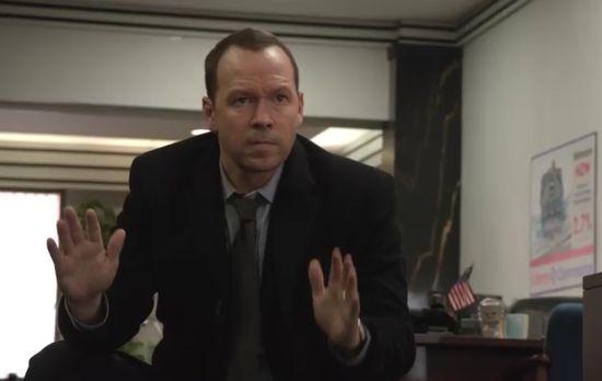 Blue Bloods - Danny (Donnie Wahlberg) wird Opfer eines Banküberfalls. Wenn di...