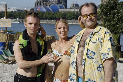 Die dreisten Drei - Die Comedy WG - v.l.n.r. Ralf Schmitz, Mirja Boes und Mar...