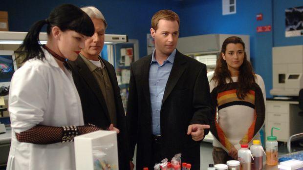 Stehen noch vor einem Rätsel: Abby (Pauley Perrette, l.), Gibbs (Mark Harmon,...