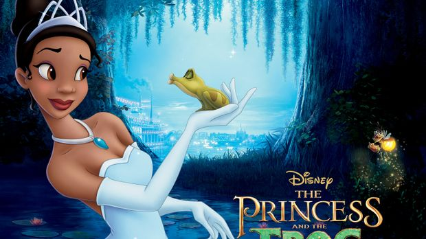 Küss den Frosch - Artwork © Walt Disney Pictures.  All Rights Reserved.