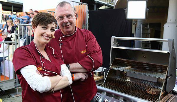Kathy Weber und Frank Kleen - Bildquelle: kabel eins/ Ralf Jürgens