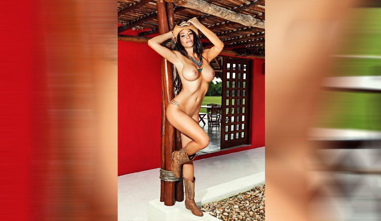 Morgan Maria - Bildquelle: Miguel A. Manrique für Playboy Juli 2015