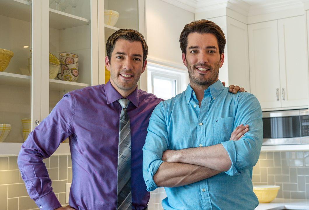 Lassen Wohnträume wahr werden: Drew (l.) und Jonathan (r.) begleiten ihre Kunden vom Kauf bis zur Renovierung von Immobilien. - Bildquelle: Eric Milner 2013, HGTV/Scripps Networks, LLC. All Rights Reserved