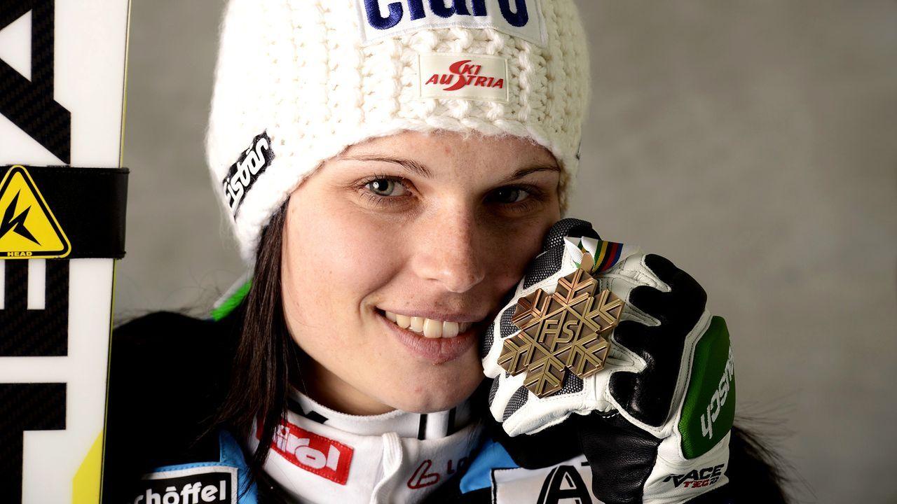 Anna-Fenninger-13-02-14-dpa - Bildquelle: dpa