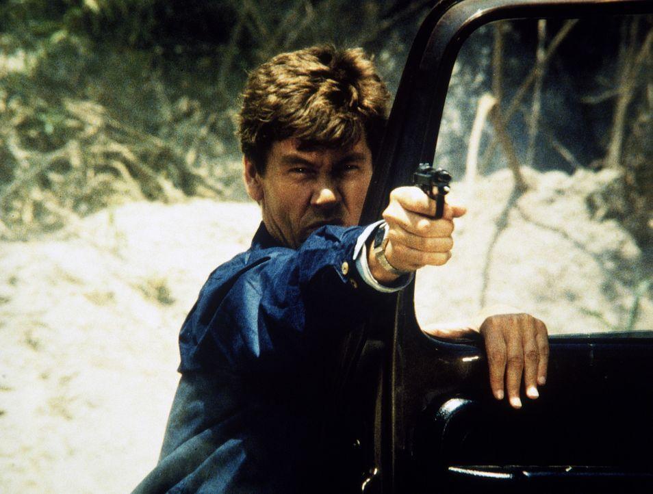 Der Gangster Franklin (Michael Halsey) versucht mit allen Mitteln, seine Festnahme zu verhindern ...
