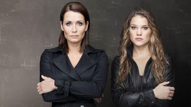 Ein außergewöhnliches Ermittler-Duo: Kommissarin Hannah Mangold (Anja Kling,...