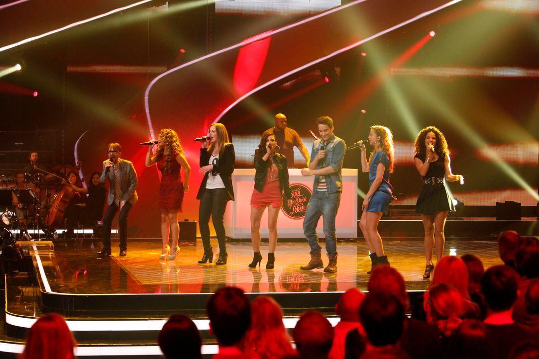 voice8thevoiced0g5923jpg - Bildquelle: ProsiebenSat1/Richard Hübner