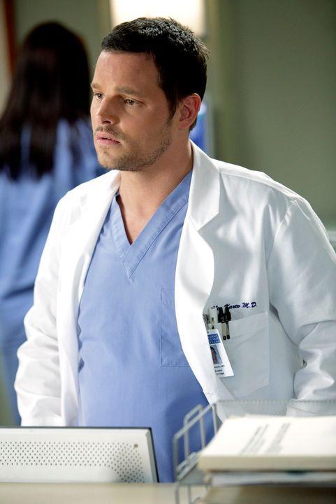 Während die Beziehung von Lucy und Alex (Justin Chambers) auf eine Harte Probe gestellt wird, steigt Jackson aus der Diabetes-Studie von Chief Webbe... - Bildquelle: ABC Studios