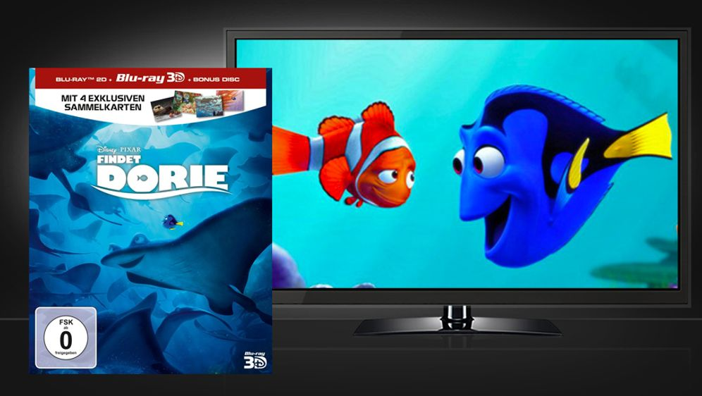Findet Dorie (3D Blu-ray Limited Edition)