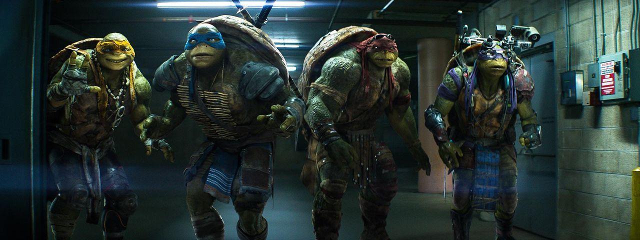 teenage-mutant-ninja-turtles-32-Paramount-Pictures - Bildquelle: Paramount Pictures