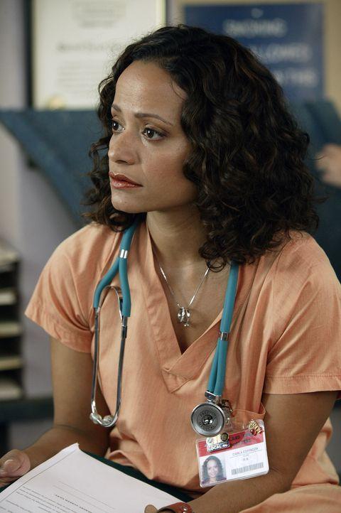 Carla (Judy Reyes) hat es im Job nicht immer leicht ... - Bildquelle: Touchstone Television