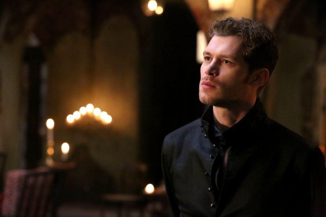 Klaus (Joseph Morgan) gefällt es überhaupt nicht, dass ein Serienkiller seine Stadt heimsucht und so den wackeligen Frieden gefährdet ... - Bildquelle: Warner Bros. Entertainment Inc.