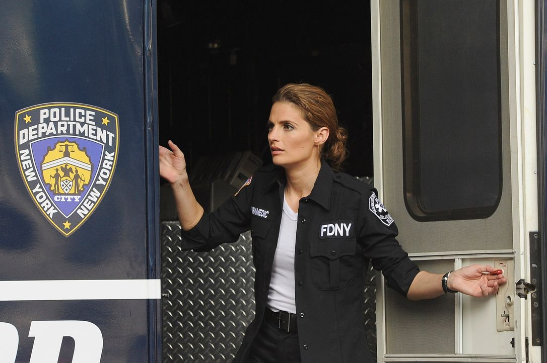 Für Kate Beckett (Stana Katic) beginnt ein Wettlauf mit der Zeit ... - Bildquelle: 2011 American Broadcasting Companies, Inc. All rights reserved.